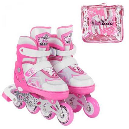 """Ролики с подсветкой """"Best Roller"""" S , розовый 7005-S"""