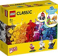 Конструктор Лего Прозорі кубики для творчості 11013