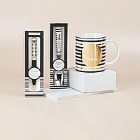 """Подарунковий набір з чашки, ложки та ручки B&G """"Найкращий брат"""", фото 1"""