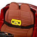 Дитячий двомісний електромобіль Bambi Racer 4WD Баггі M 3602EBLR-3 червоний, фото 3