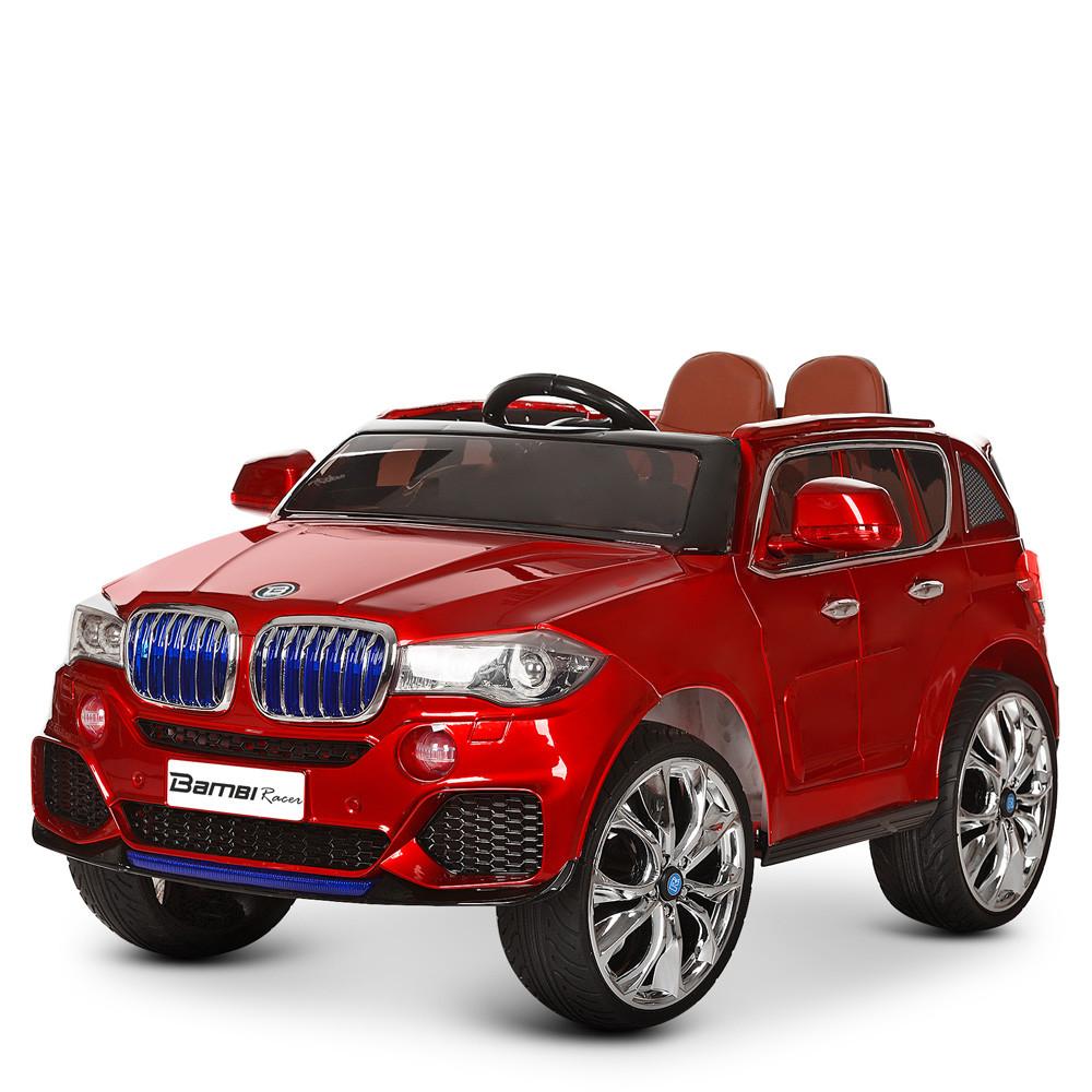 Дитячий двомісний електромобіль Bambi Racer 4WD Баггі M 3602EBLR-3 червоний