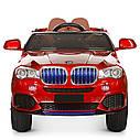Дитячий двомісний електромобіль Bambi Racer 4WD Баггі M 3602EBLR-3 червоний, фото 5