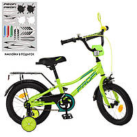 Детский двухколесный велосипед Profi Y14225 Prime (green), фото 1