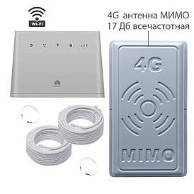 """4G WI-FI комплект """"Домашний интернет"""" (в городе, в сельской местности) Киевстар, Lifecell, Vodafone"""