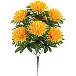 Штучні квіти букет хризантеми, 56см( 20 шт в уп.), фото 2
