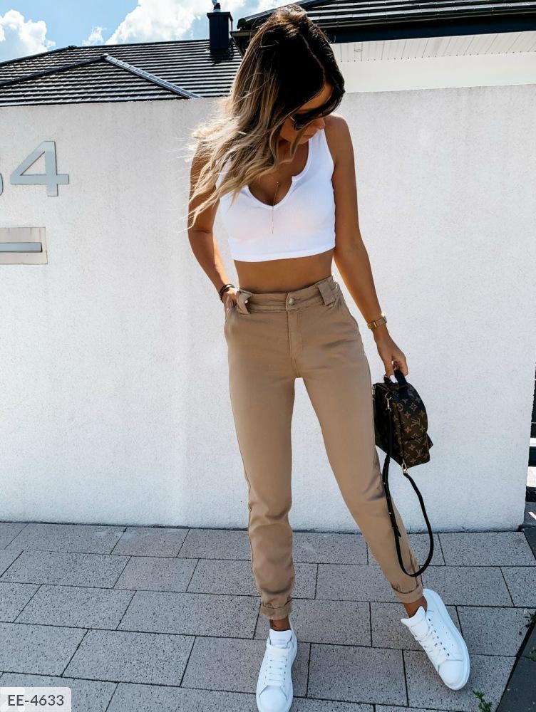 Жіночі теплі шкіряні брюки на ФЛІСІ!!! Розміри: 42-44, 46-48.