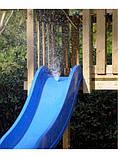 Дитяча гірка пластикова для будинку і дачі, пластмасова гірка спуск 3 м HAPRO червона, фото 3