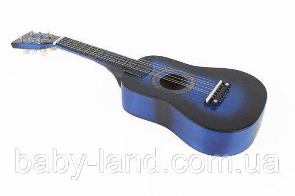 Гитара деревянная M 1370 (Синий)