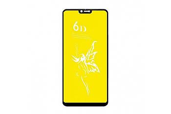 Стекло 6D Premium- Xm Redmi 9 -чёрный,  тех. упаковка