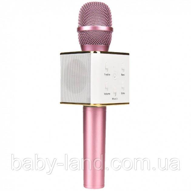 Караоке мікрофон Q7 (Q7(Pink))