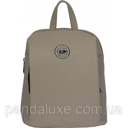 Рюкзак женский красивый средний кожаный стильный 32х27х13см, фото 2