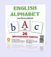 "Карточки мини ""Английский алфавит"" (110х110 мм) ENG 101693, фото 1"