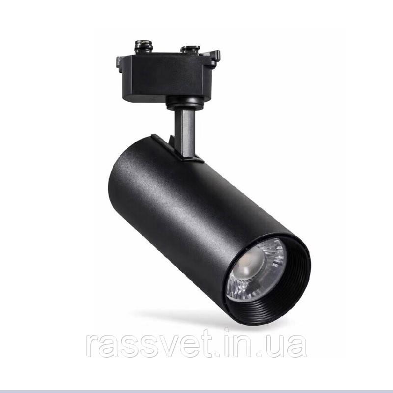 ElectroHouse LED світильник трековий Graceful light Чорний 30W 2400Lm 4100K