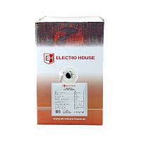 ElectroHouse Кабель витая пара FTP  4х2х0,51 CCA ПВХ серый (внутр. Монтаж)
