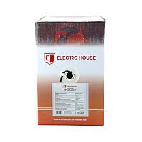 ElectroHouse Кабель витая пара FTP 4х2х0,51 CCA (наруж. монтаж) ПЭ черный, фото 1