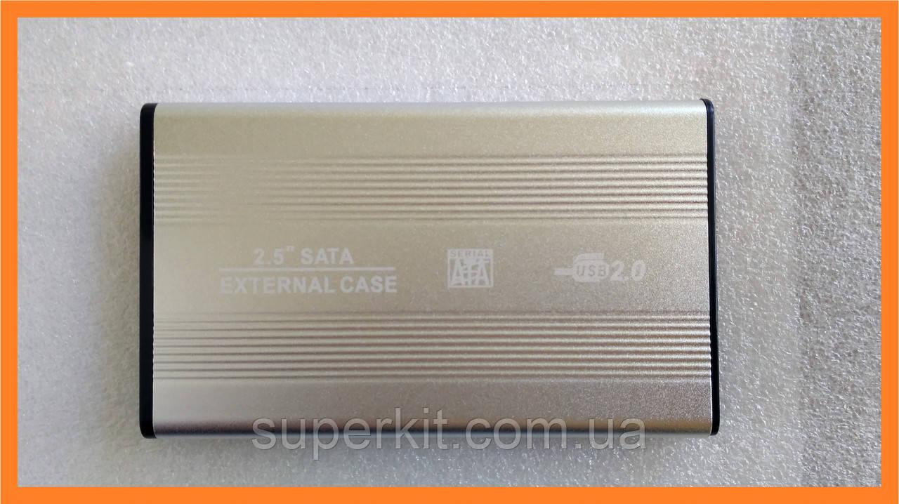 Внешний карман бокс sata винчестер HDD 2,5 USB 2.0 - Уценка!!!