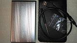 Внешний карман бокс sata винчестер HDD 2,5 USB 2.0 - Уценка!!!, фото 9