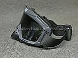 Кроссовые очки BEON черные, тонированное стекло, фото 2