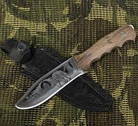 """Охотничий нож Кизляр """"Медведь"""" Оригинал с паспортом, чехол кожа, нескладные ножи, ножи для охоты, фото 1"""
