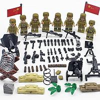 Фигурки армии Советского союза ссср военные времен второй мировой войны ВОВ , аналог лего Lego