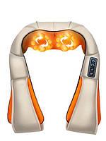 Массажёр роликовый для тела универсальный/ массажер для шеи/ массажер для спины и ног