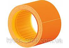 Етикетки-цінники Economix 50х40 мм помаранчеві (100 шт. / рул.), E21310-06