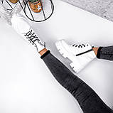 Ботинки женские Lazar белые натуральная кожа, фото 2