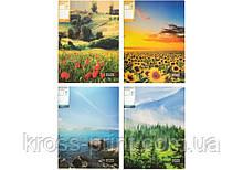 "Папка А4 с 30 файлами Optima ""Nature of Ukraine"", ассорти"