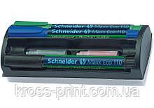 Набор маркеров с губкой для досок и флипчартов SCHNEIDER MAXX 110 2-3 мм, 4 цвета в блистере
