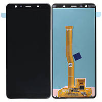 LCD Samsung A750F/A7-2018 + touch Black (OLED)