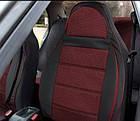 Чехлы на сиденья Хонда Цивик (Honda Civic) (универсальные, кожзам+автоткань, пилот), фото 3