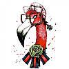 Набор, техника акриловая живопись по номерам Fashion flamingo, 35х45 см, ROSA N00013207 (N00013207 x 227686)