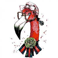 Набор, техника акриловая живопись по номерам Fashion flamingo, 35х45 см, ROSA N00013207 (N00013207 x 227686), фото 1