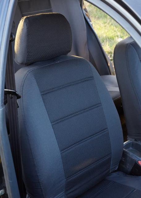 Чехлы на сиденья Форд Транзит (Ford Transit) 1+1  (универсальные, автоткань, с отдельным подголовником)