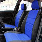 Чехлы на сиденья Форд Транзит (Ford Transit) 1+1  (универсальные, автоткань, с отдельным подголовником), фото 2