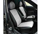 Чехлы на сиденья Форд Фьюжн (Ford Fusion) (универсальные, кожзам, с отдельным подголовником), фото 5
