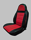 Чохли на сидіння ДЕУ Матіз (Daewoo Matiz) (модельні, кожзам, пілот), фото 6