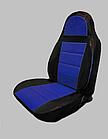 Чохли на сидіння ДЕУ Матіз (Daewoo Matiz) (модельні, кожзам, пілот), фото 7