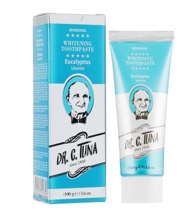Зубна паста з евкаліптом Dr. C.Tuna Vintage