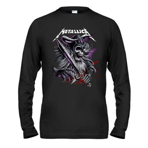 Лонгслив Metallica (со скелетом-воином)
