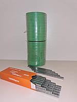 СУПЕРКОМПЛЕКТ для подвязки растений: лента зеленая 700 метров (150 мкм) + усиленные скобы, фото 1