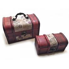 Сундучки Darshan набор 2 шт 18х11х12 см 14х7,5х7 см 50671, КОД: 1365988