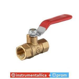 Кран шаровый воздушный латунь внутренняя резьба 1/4 -1/4 STORM PT-1881 Intertool