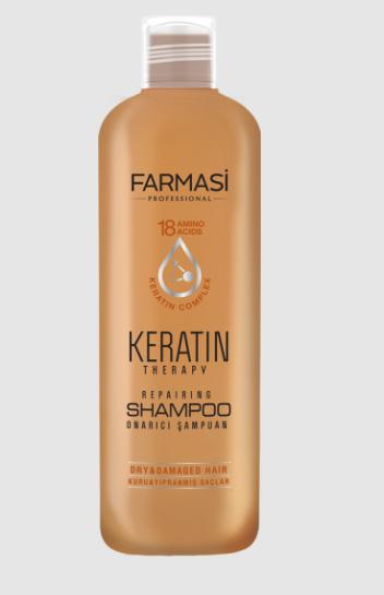 """Відновлюючий шампунь Farmasi """"Кератинова терапія"""" 360 мл"""