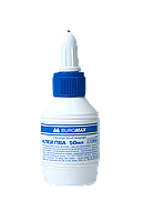 Клей ПВА  50мл  JOBMAX колпачок-дозатор Buromax BM.4851 (BM.4851 x 137354)