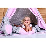 Детская палатка Принцесса ИНДИВИДУАЛЬНЫЙ набор. Детский вигвам, детский домик, игровой шалаш, вигвам детский, фото 4