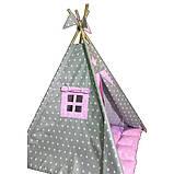Детская палатка Принцесса ИНДИВИДУАЛЬНЫЙ набор. Детский вигвам, детский домик, игровой шалаш, вигвам детский, фото 5