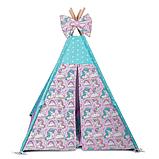 Детская палатка Единороги ИНДИВИДУАЛЬНЫЙ набор. Детская вигвам, игровой шалаш, вигвам детский, вигвам, фото 2