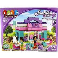 Детский конструктор модный дом  jdlt 125 деталей в коробке 5230