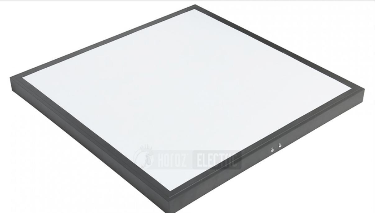 """Світильник накладної 600*600 SMD LED """"PULSAR-48"""" 48W 6400K чорний"""